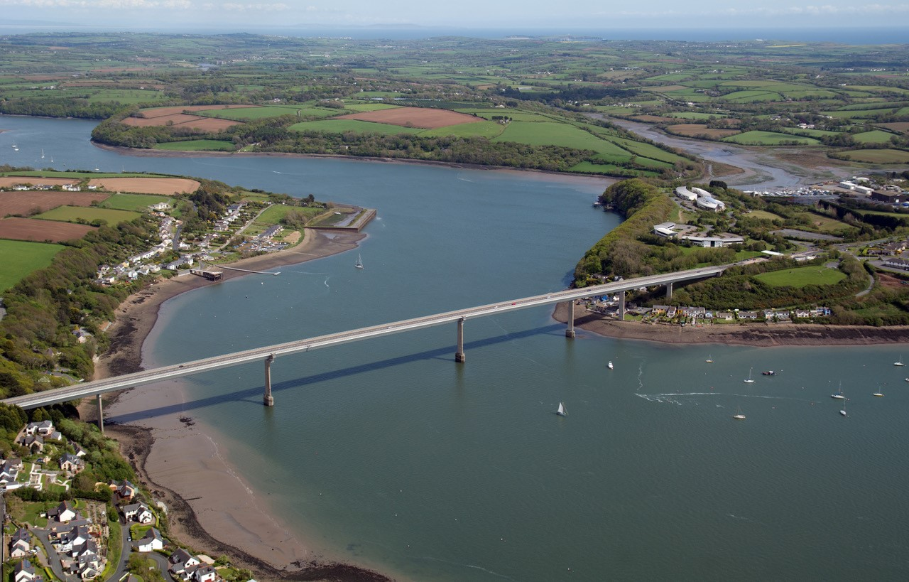 The Cleddau Bridge. PICTURE: Martin Cavaney.
