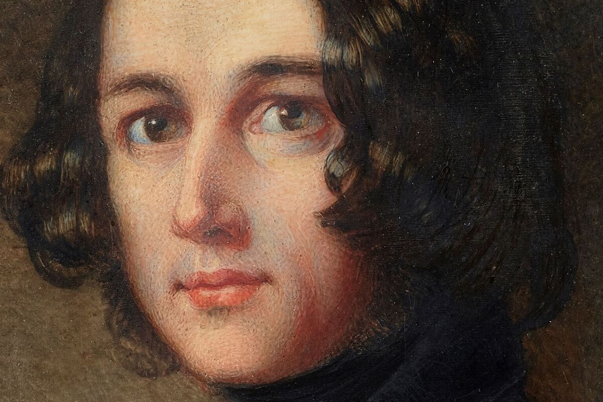 A lost miniature portrait of Charles Dickens, which has been unearthed