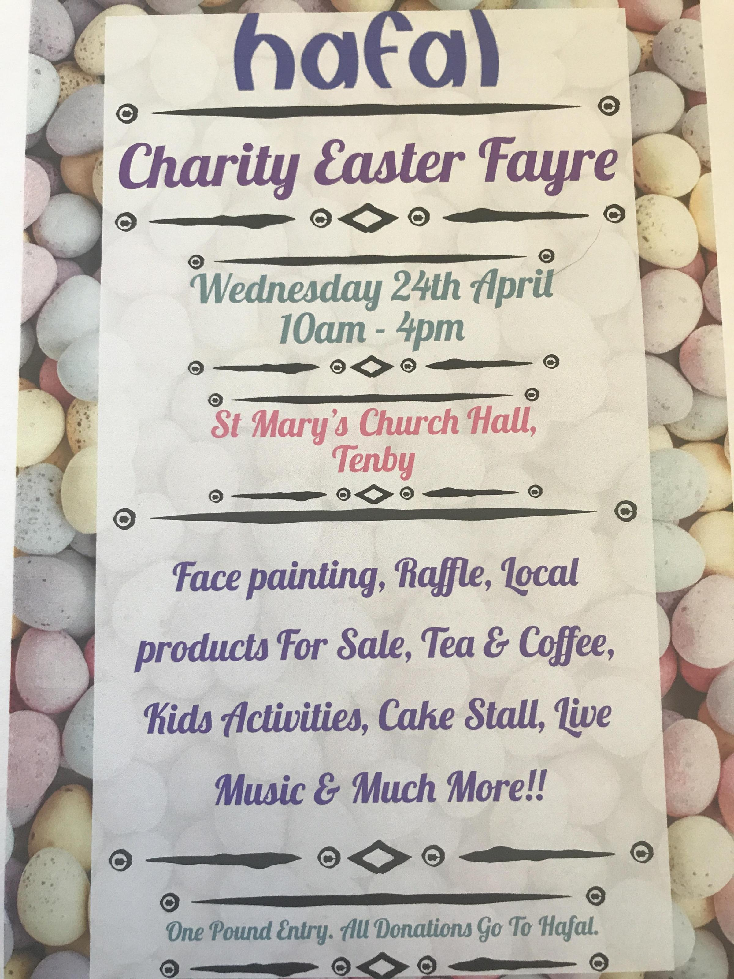 Hafal Charity Easter Fayre