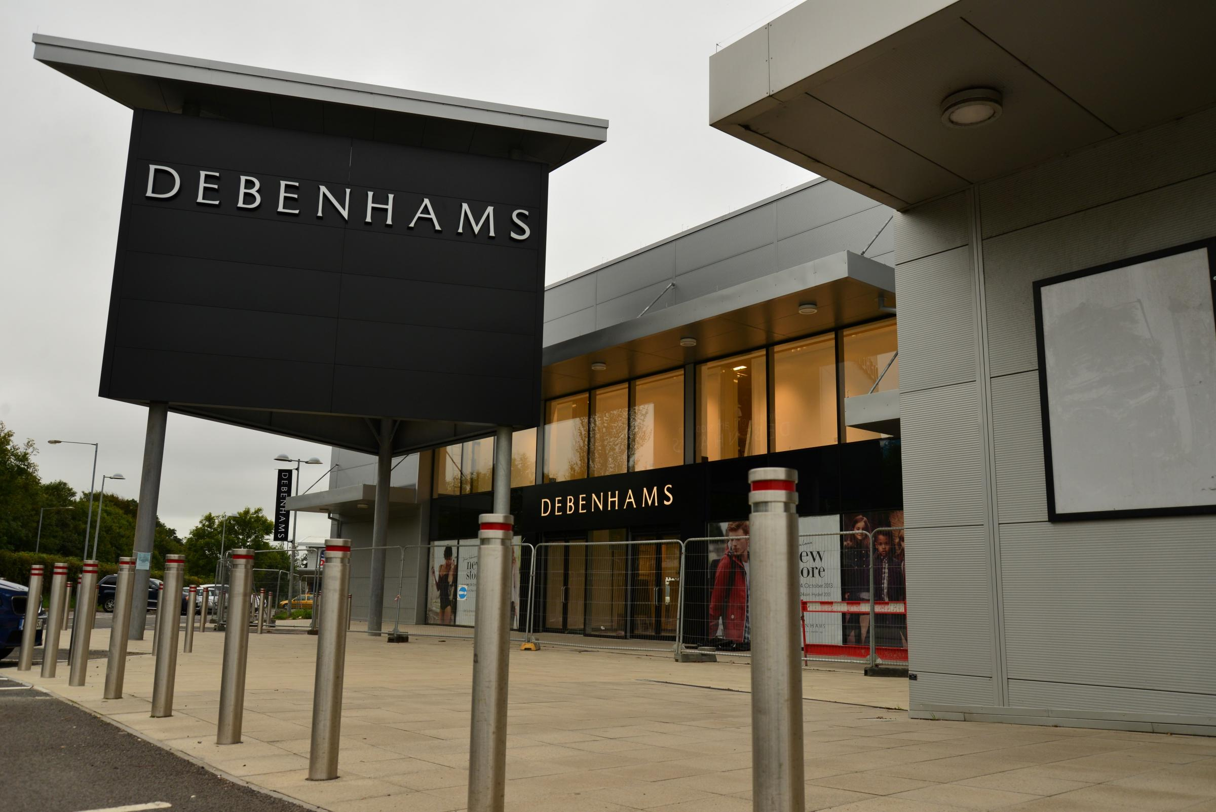Debenhams is the latest store to arrive at Withybush Shopping Park. PICTURE: Western Telegraph.