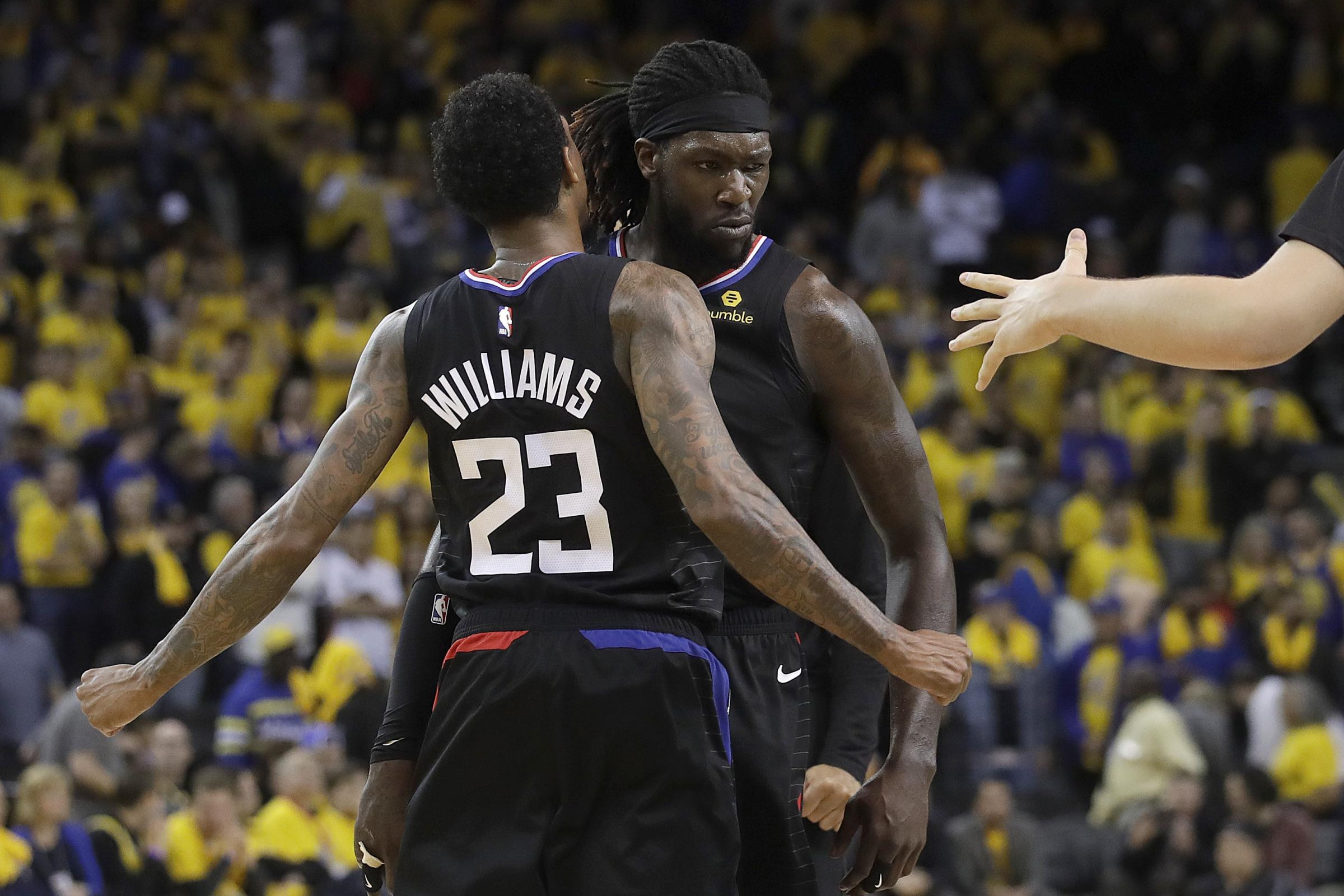 Los Angeles Clippers duo Lou Williams and Montrezl Harrell helped their side record a stunning fightback