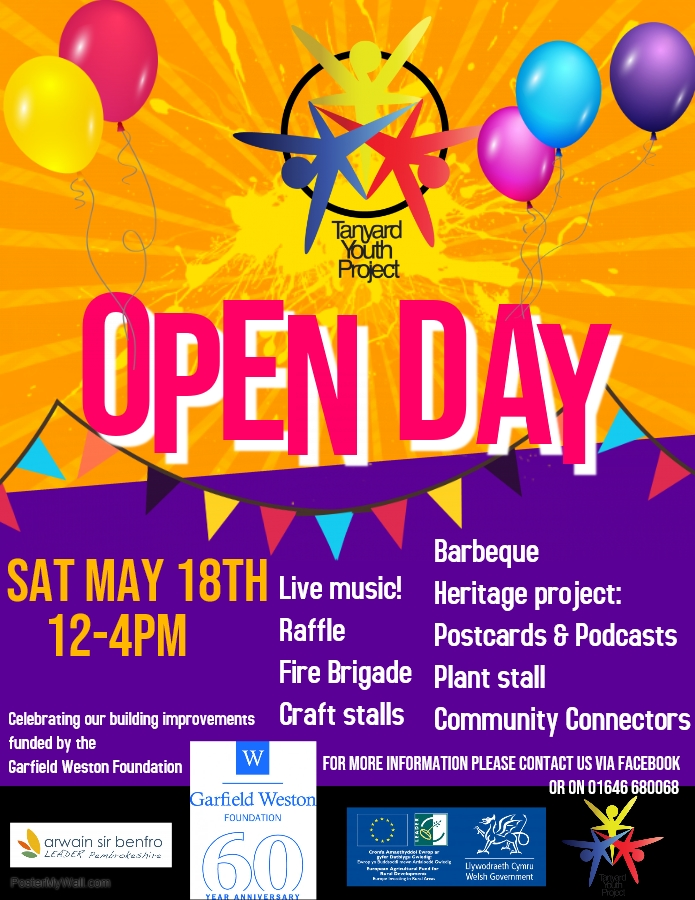 Tanyard Youth Project Open Day
