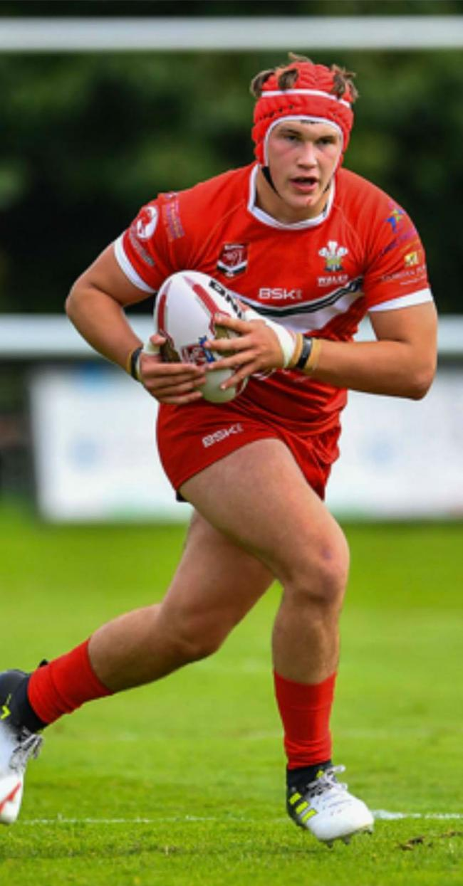 Ewan Badham from Pembrokeshire is in Wales U19 Rugby League squad