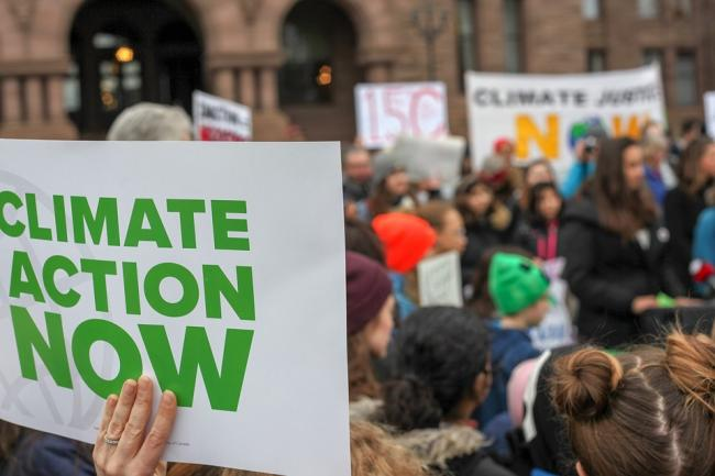 Public clamour for climate change action