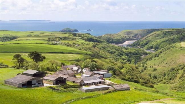 Pembrokeshire County Council has announced that  Trecadwgan County Farm, Solva, will go back to public auction.