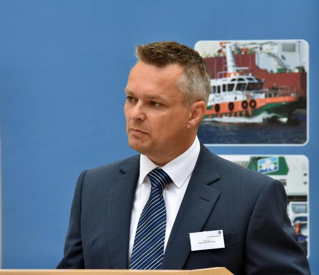 Andy Jones has been named new chief executive of the Port of Milfordm Haven